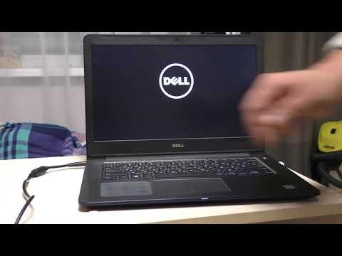 ноутбук Dell не включается на гарантии