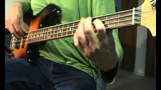 Creedence Clearwater Revival - Someday Never Comes - Bass Cover