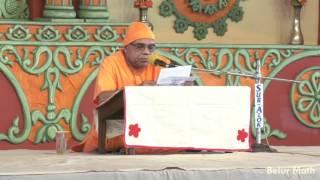 Reading from Sri Sri Ramakrishna Lilaprasanga by Swami Kritarthananda
