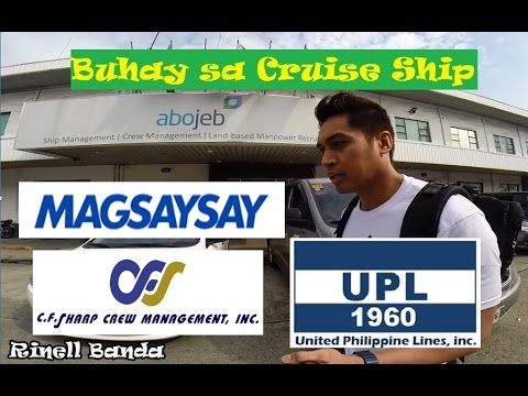 SHIPPING AGENCIES in MANILA (Buhay sa Cruise Ship)