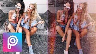 Cara Edit Foto Retro Vibe Seperti Huji Cam - Gudak Cam HANYA dengan PicsArt