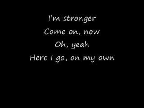 Britney Spears - Stronger (With Lyrics)
