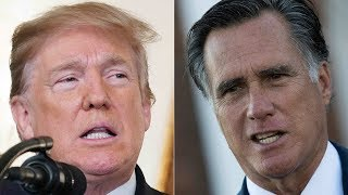 Trump shrugs off Romney's blistering attack on his record