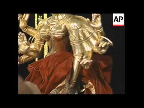 Celebrations for Hindu festival that honours goddess Durga