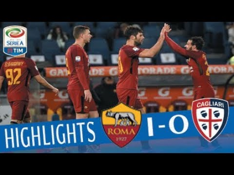 Roma - Cagliari 1-0 - Highlights - Giornata 17 - Serie A TIM 2017/18