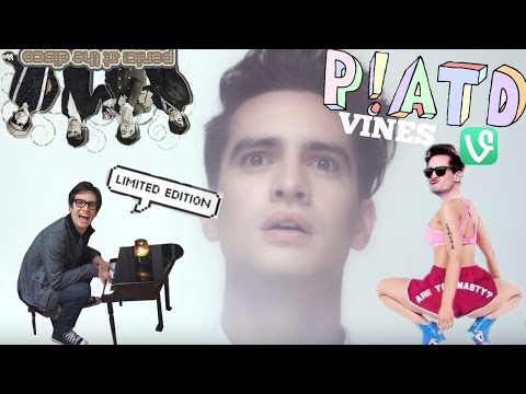 BEST PANIC! AT THE DISCO/BRENDON URIE VINES/MOMENTS