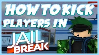 HOW TO KICK PLAYER OUT OF THE VIP SERVER | JAILBREAK | ROBLOX