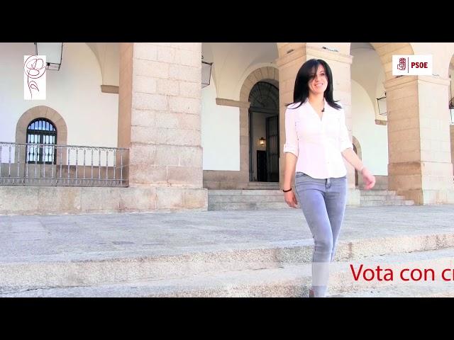 Susana Padilla, desde el ayuntamiento de Cáceres
