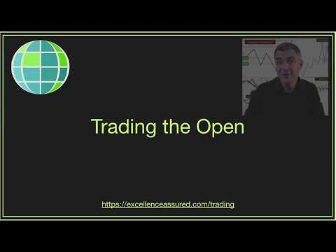 Trading the Open on the FTSE using 5 minute chart