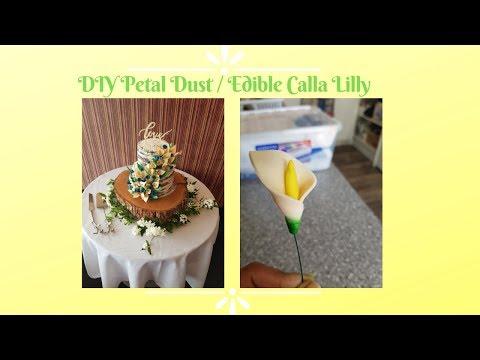 DIY Petal Dust || Sugar Flowers || Calla Lilly