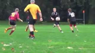 Learning to develop a Rugby Side Step!