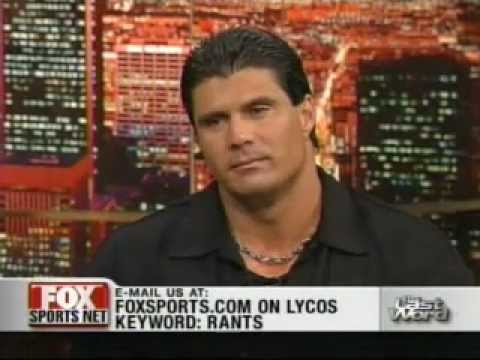 Jose Canseco interviewed by Jim Rome
