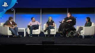 Accessibility: Making Games for All Gamers with ASL - PlayStation Experience 2016: Panel Discussion