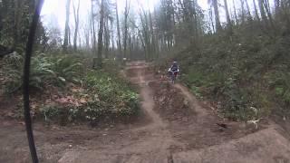 GoPro BMX snake hill