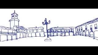Dibujo plaza