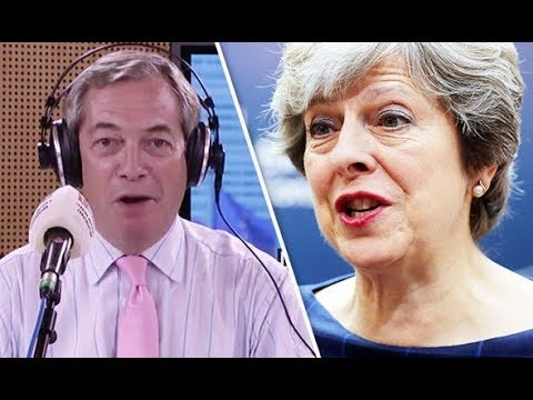 'This isn't working' Nigel Farage explains what Theresa May needs to do to deliver Brexit