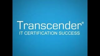 How to use Transcender to pass certification