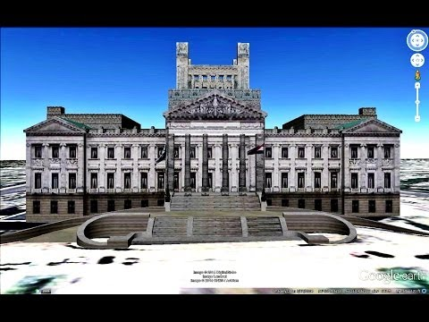 HISTORICAL PLACES OF URUGUAY IN GOOGLE EARTH  PART  TWO