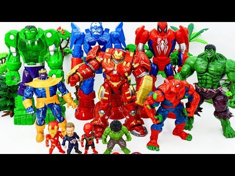 Marvel Super Hero in DANGER!~ HULKBUSTER MECH ARMOR Show Up In Time & Saves Superhero From THANOS