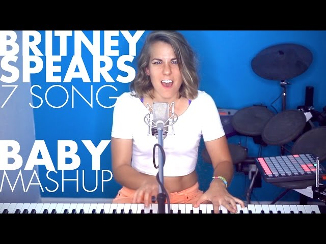 7 Britney Spears songs - BABY! mashup