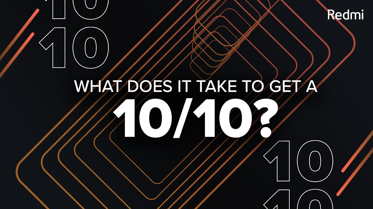 This is what it means to be #10on10   Redmi Note 10 Series