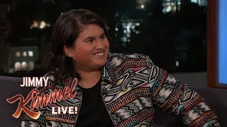 15-Year-Old Deadpool 2 Actor Julian Dennison Can't See His Own Movie by : Jimmy Kimmel Live