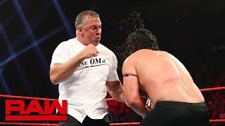 Shane McMahon brutalizes one of Roman Reigns' cousins: Raw, May 27, 2019