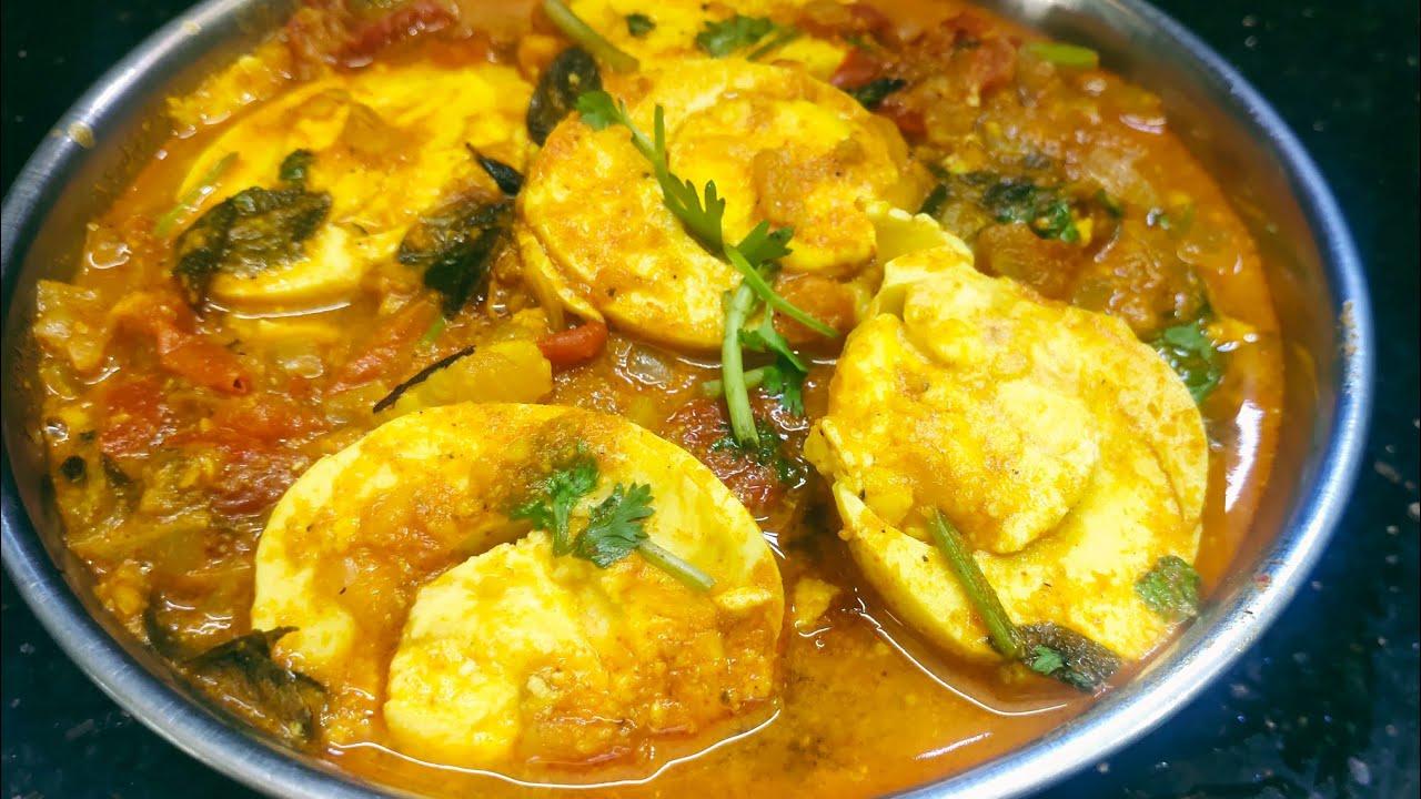 simple&tasty egg gravy//egg curry recipe//egg tomato curry//egg masal