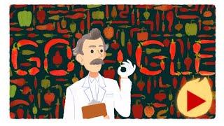 Wilbur Scoville Google Doodle, Wilbur Scoville