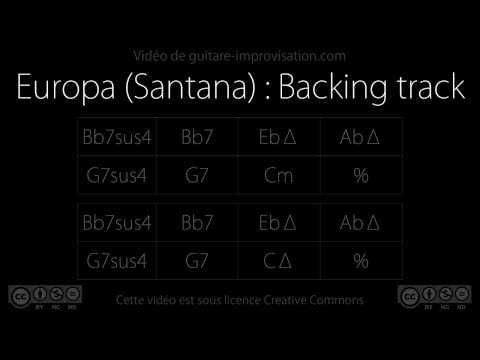 Europa (Santana) : Backing track