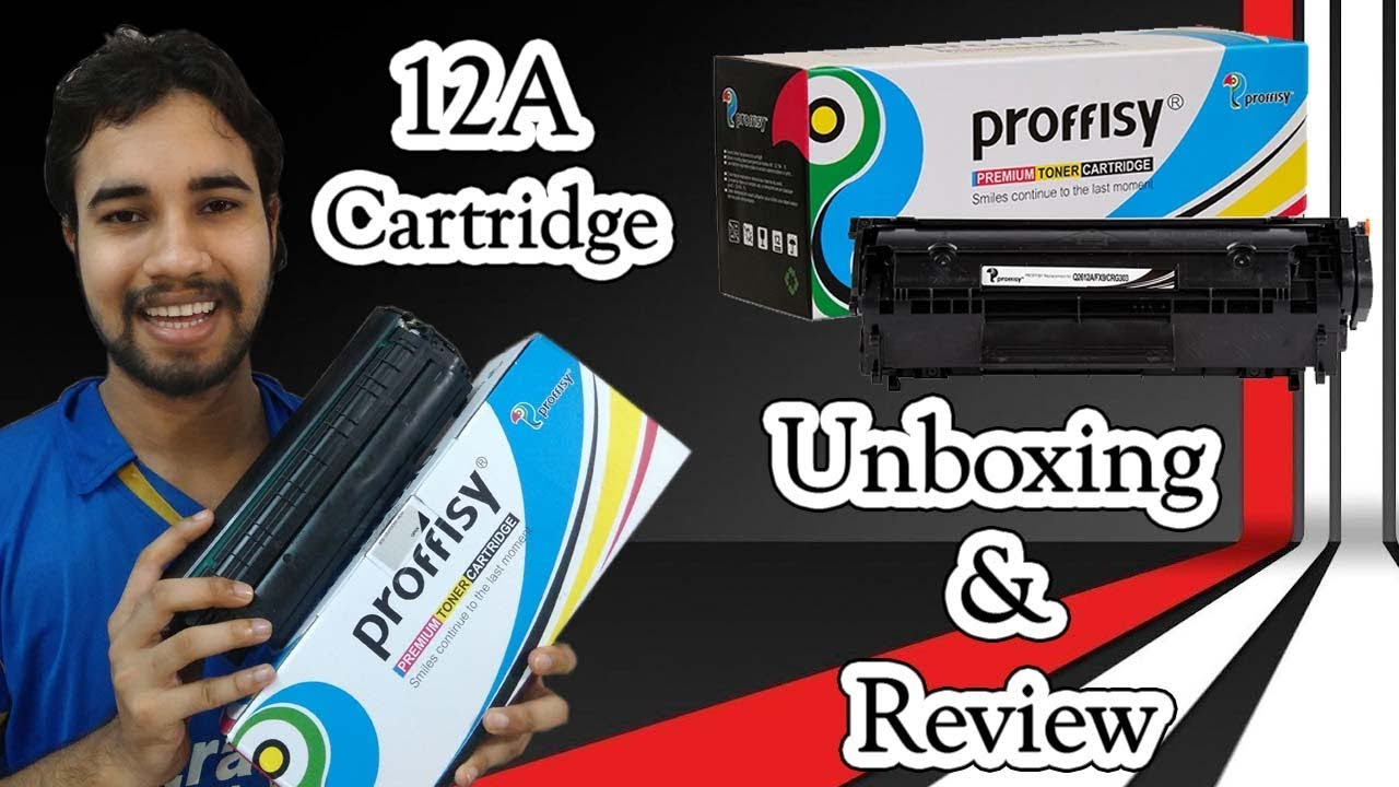 How to refill Hp 12A toner - YouTube