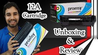 Magical Toner Proffisy 12A Toner Cartridge Unboxing amp Review