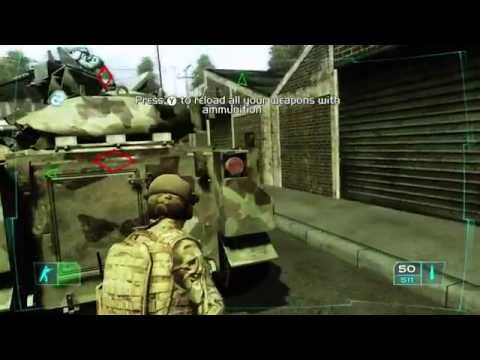 Ghost Recon Advanced Warfighter 1 Gameplay  —  XBox 360 {60 FPS}