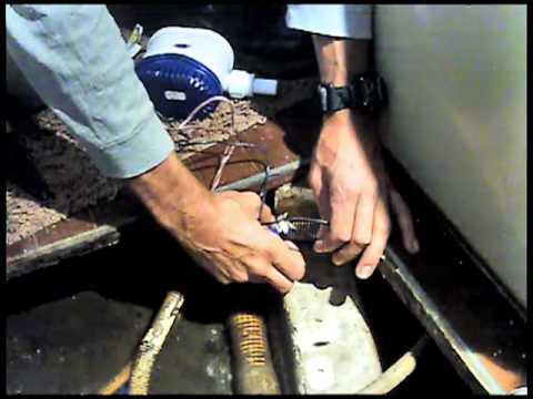 Replacing The Bilge Pump Youtube