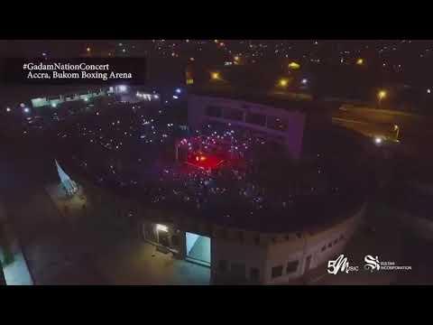 Gadam nation concert Bukom Boxing Arena