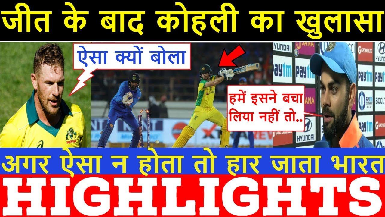 "India vs Australia: Shikhar Dhawan hit on rib-cage but is ""doing fine"""