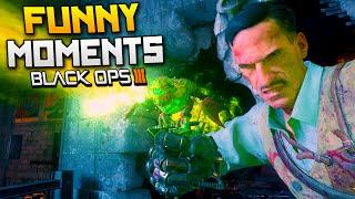 Black Ops 3 Zombies Funny Moments: Gorod Krovi - Fails, Pet Dragon, Finger Trap! (BO3)