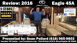 Full Review: 2016 American Eagle 45A by American Coach @VeurinksRV