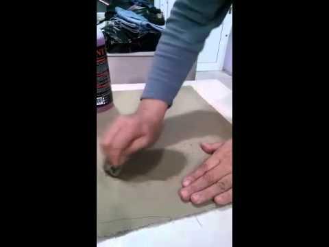 Glint Bitkisel Çözücünün Kumaş Üzerinde ki Tükenmez Kalemi Çıkarması