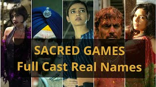 Sacred Games Full Cast Real Names |