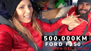 HALF MILLION KM TRUCK CAMPER 1990 Ford F250/ VAN LIFE TIERRA DEL FUEGO