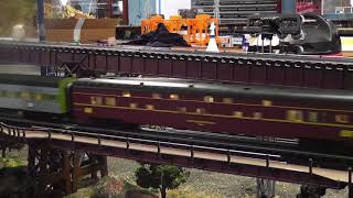Lionel 21in Penn Central Passenger Cars Video Review