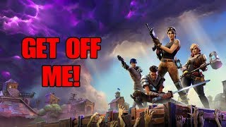Fortnite Battle Royale - GET OFF ME! - YOU AIN'T ON MY LEVEL! (17 KILLS!)