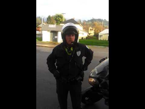 Roseburg police harrassment