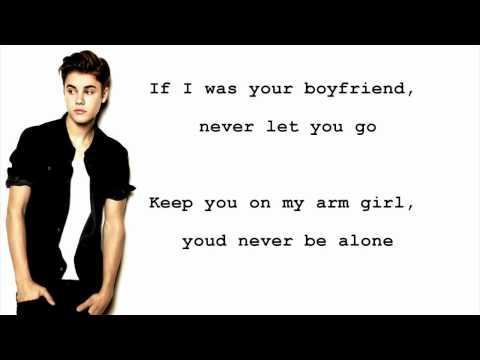Boyfriend - Justin Bieber (Lyrics)