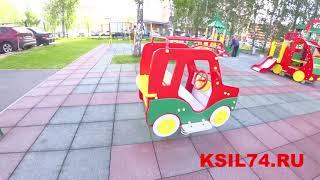 Качели на пружине 4118 Джип КСИЛ Челябинск