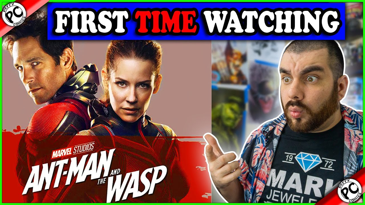 WATCHING ANT-MAN AND THE WASP FOR THE FIRST TIME | MOVIE REACTION MCU PHASE 3