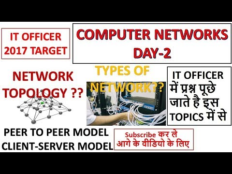 Computer Networks Day-2 Preparation For IT Officer|NIELIT|Scientific Assistant Exam 2017