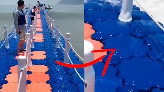 Этот Мост Сделан Из Лего - Необычные Видео Которые Вы Увидите Впервые В Жизни