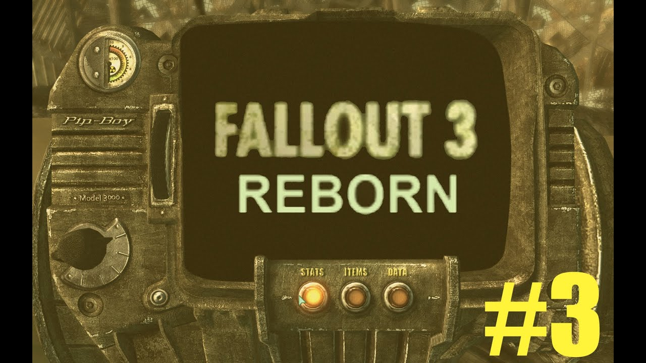 FALLOUT 3 REBORN - Mod Gameplay - Episode 3 - SORRY GRANDMA - YouTube
